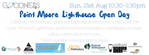 Pt Moore Lighthous Open Day