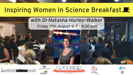 2018 Inspiring Women In Science Breakfast